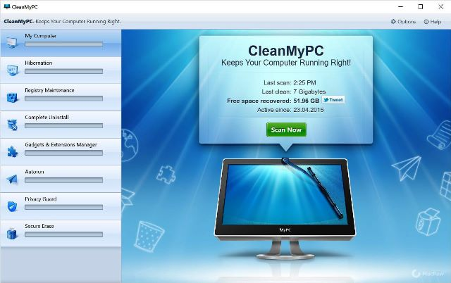 CleanMyPC 1.9.8.1712 Crack With Keygen Free Download