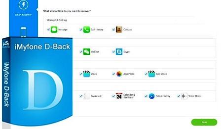 iMyfone D-Back 6.8.0.6 Crack + Registration Code [Mac + Windows]