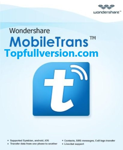 Wondershare MobileTrans 8.0.0.609 Crack + Registration Code 2019